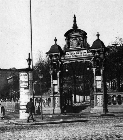 Außenaufnahme Bötzow-Brauerei Berlin um1864