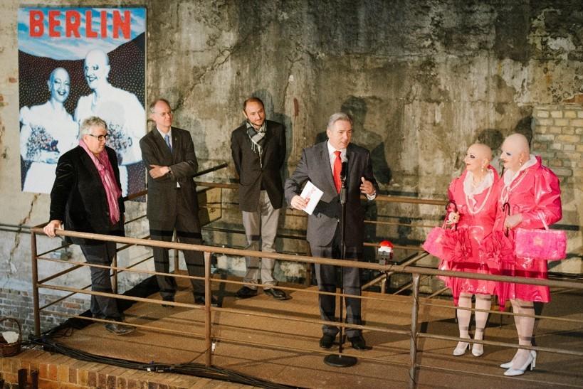 Pressekonferenz Futuring auf dem Gelände der ehem. Bötzow-Brauerei © FTWild